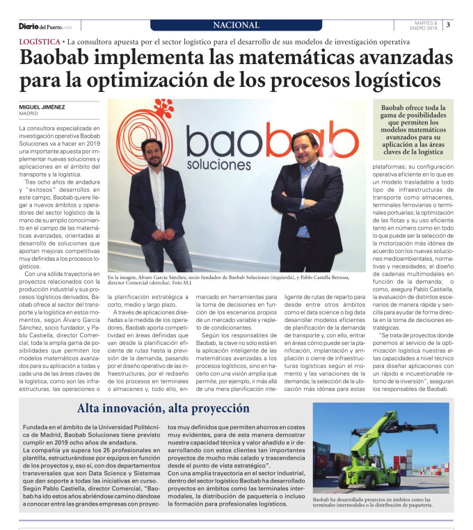 baobab en el Diario del Puerto