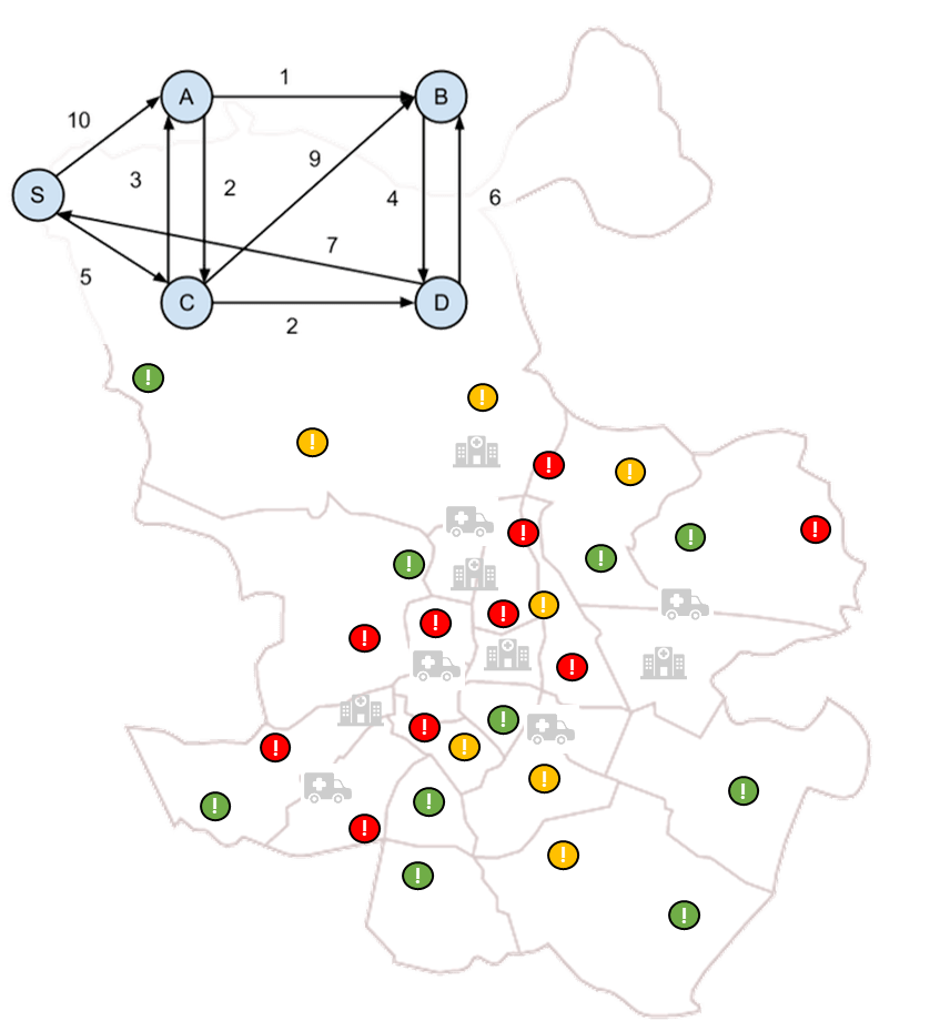 Division into areas